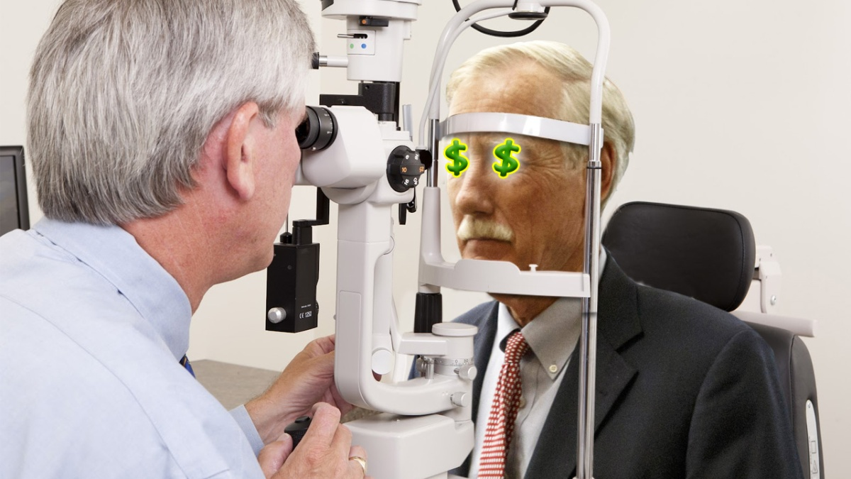 Embarrassed Angus King Can't Turn Eyes Back From Dollar Signs After Meeting With DefenseContractors