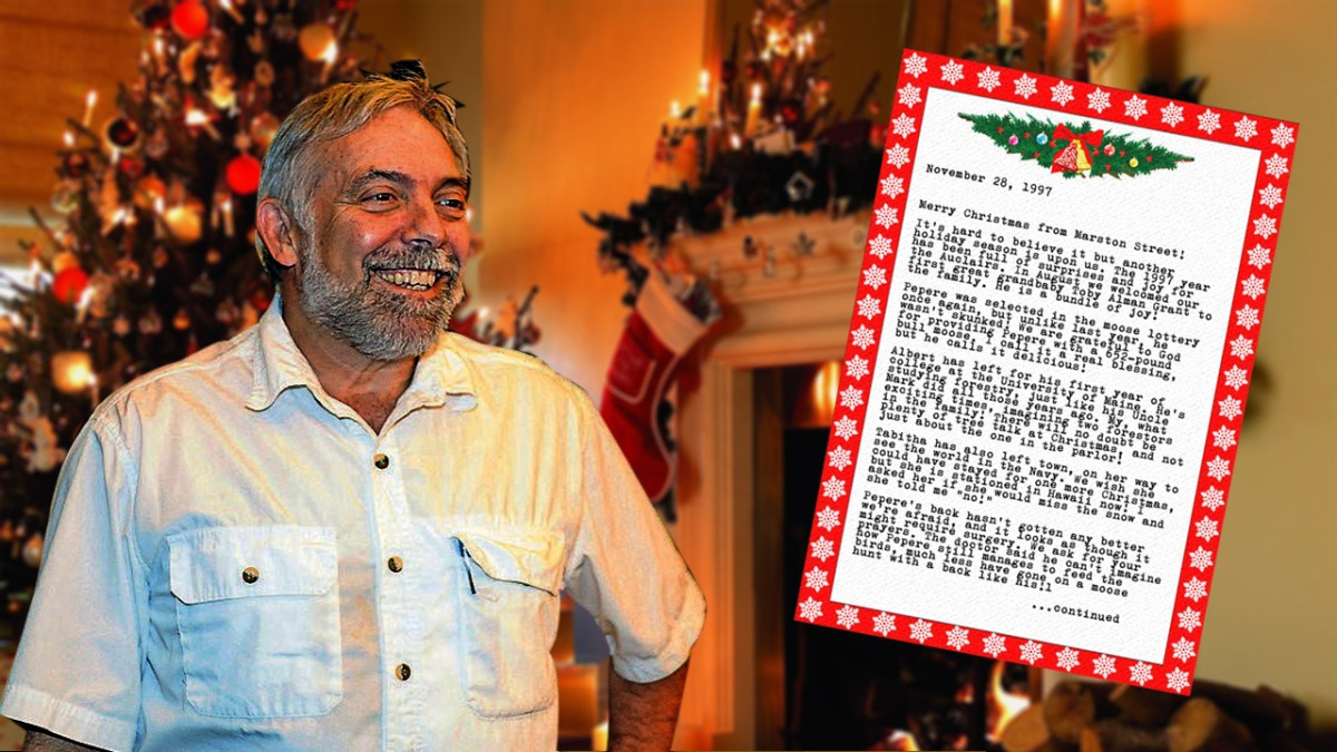 Maine News Mogul Reade Brower Buys Jackman Family's Holiday Newsletter