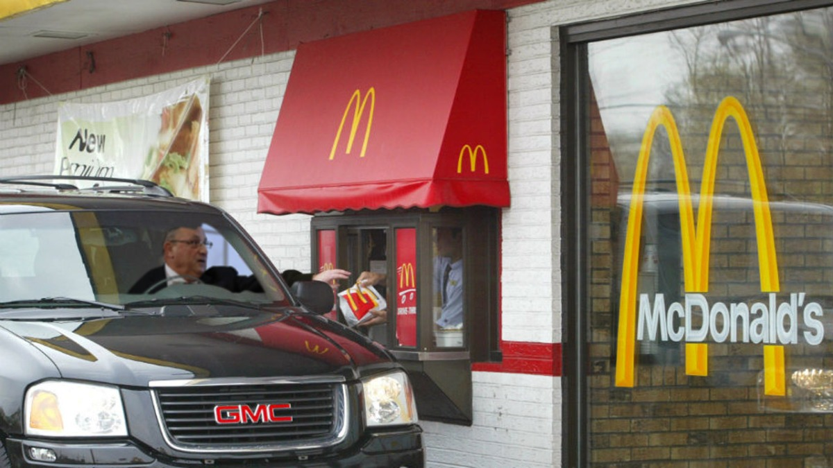 Governor LePage Pulls Car Into McDonald's After Family Tells Him They Want Burger King