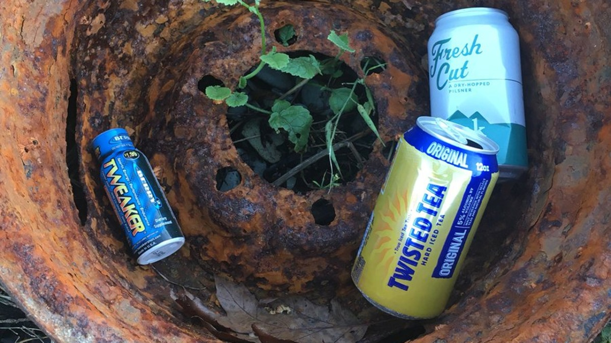 Maker of Twisted Tea Had No Idea How Popular Its Cans Would be on MaineRoadsides